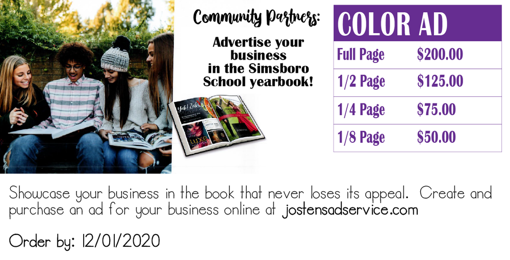 Business Ad for Yearbook