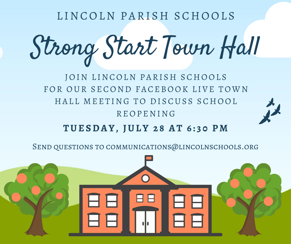 Lincoln Parish Schools Strong Start Town Hall